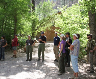 Fire Science Consortium Hosts Field Tour of Slide Fire