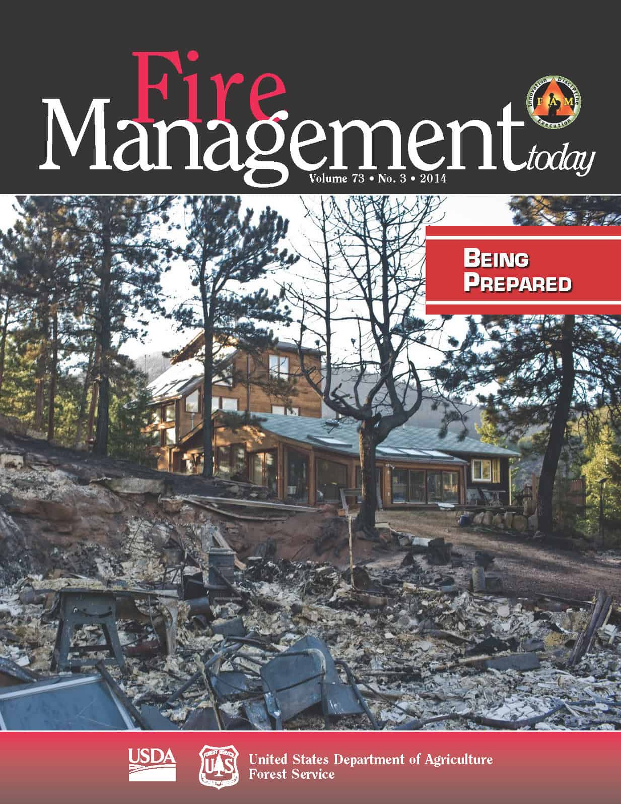 Fire Management Today publication