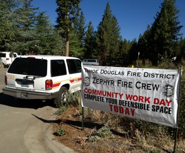 Fire Department Crews Work with Community
