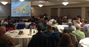 CALFIRE Director, Ken Pimlott offered remarks at the conference in which he expressed a continued interest in working with the prescribed fire community to address fire management in the state. Photo by Susie Kocher.