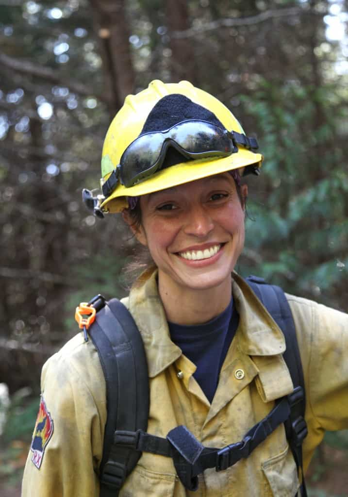 Environmental portraits like this one of a fire manager in the field can humanize a story and help people connect with your message. Photo by Larry Luckham.
