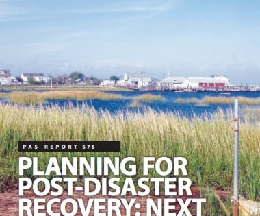 New Post-Disaster Recovery Resources Available