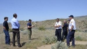 Fire Scenario & Mitigation Field Trip. Photo Credit: J. McAdams