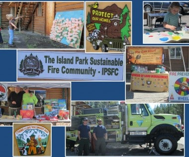 Island Park Sustainable Fire Community Wildfire Awareness Days