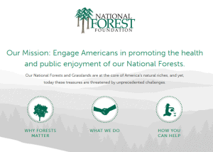Visit the NFF website for more information! Image from www.nationalforests.org.