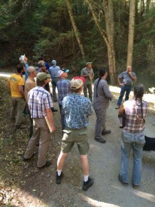 Touring AFR Stewardship Project's watershed. Photo Credit: Paul Summerfelt