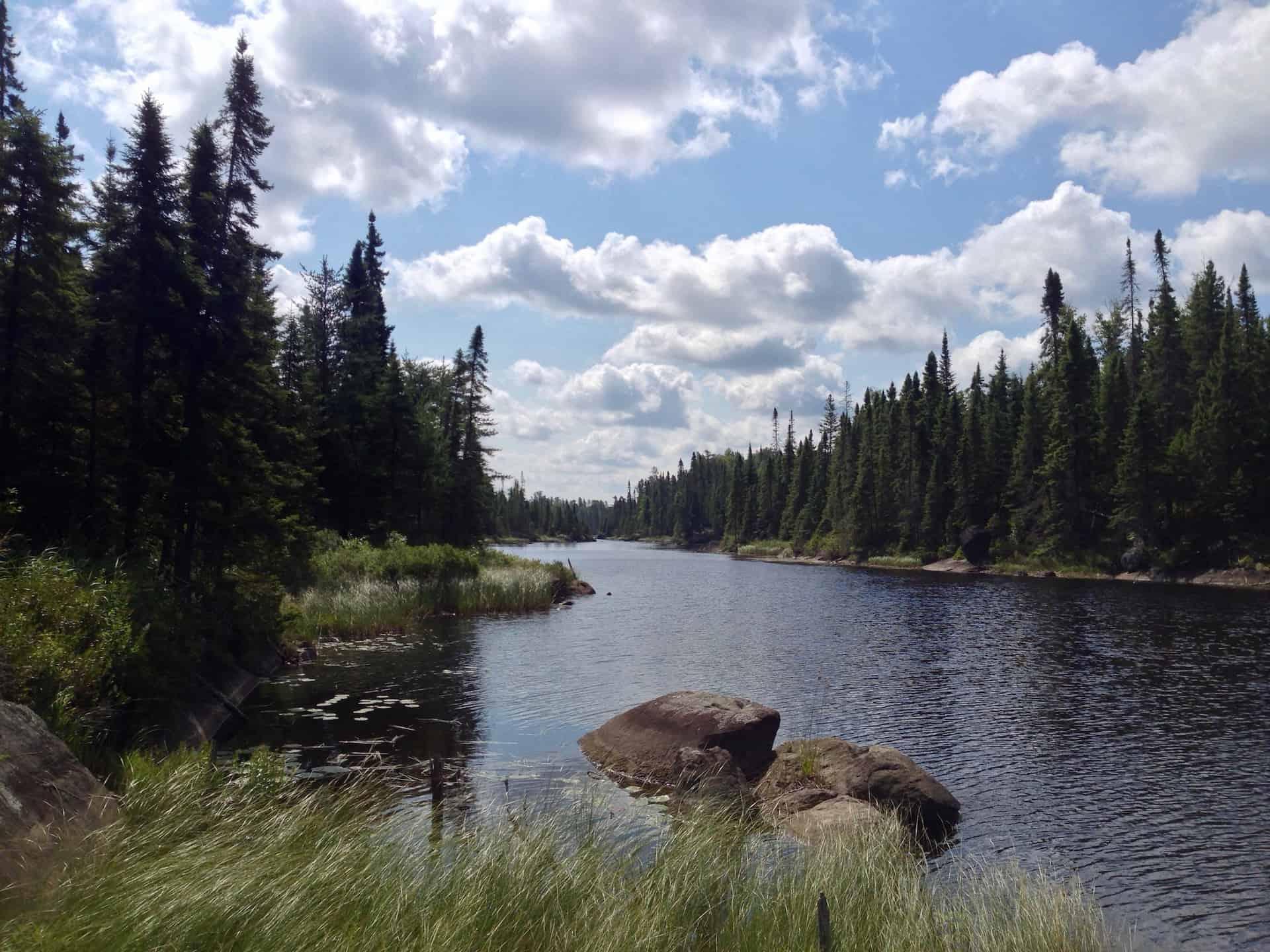 Boundary Waters Wilderness. Credit: Matt Frank