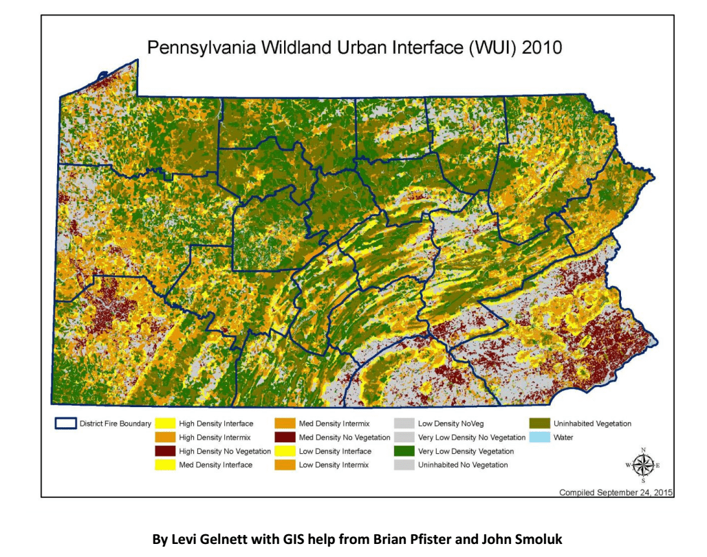 Credit: Levi Gelnett with GIS help from Brian Pfister and John Smoluk