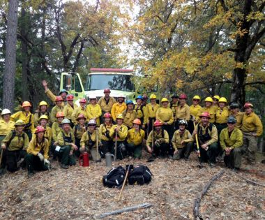 The Women-in-Fire TREX Comes to Trinity County