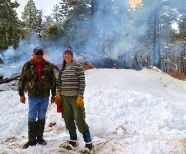 Pile Burning in Southwest Colorado: Complicated Circumstances Offset by Partner Support
