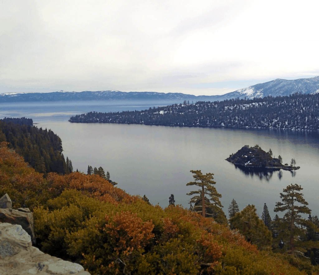 View of Emerald Bay.