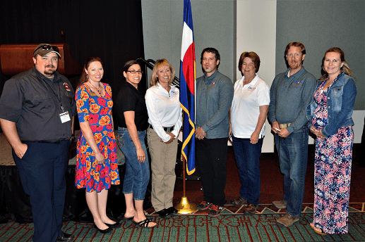 Fire Adapted Colorado's board of directors at the Colorado Wildland Fire Conference