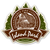 Island Park Sustainable Fire Community logo