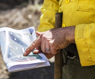 Fighting Central Oregon Wildfire with Fire