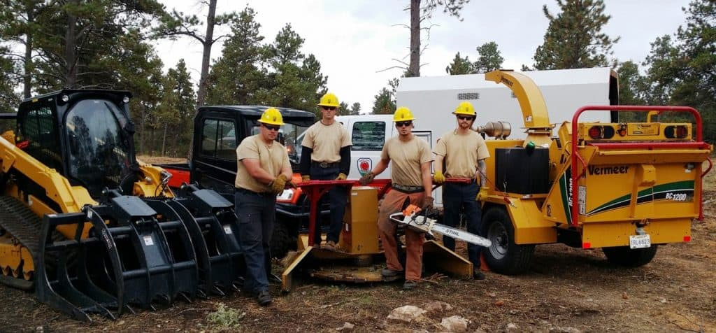Rapid City Fire Department's Veteran Wildfire Mitigation Crew