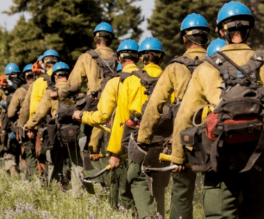 Collaborative Spatial Fire Management: Getting Ahead of Fire Using Potential Operational Delineations