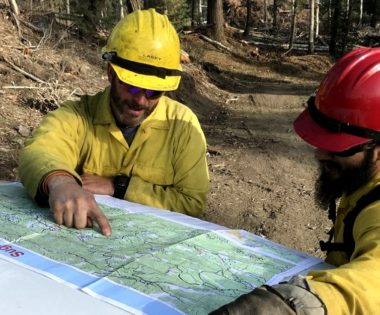 Using Community Base Maps to Improve the Safety and Effectiveness of Wildfire Response