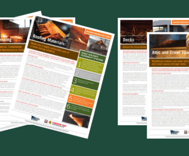 Nine Fact Sheets That Will Make Your Job Easier: NFPA Resources about Wildfire-Resilient Homes