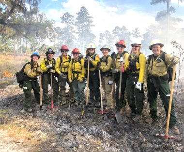 Indulging in Fire: Reflections from the Women-in-Fire Training Exchange