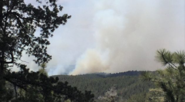 500 acre prescribed fire