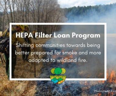 The Forest Stewards Guild's HEPA Filter Loan Program