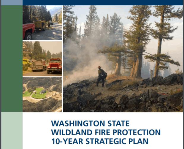 WA state wildfire strategic plan
