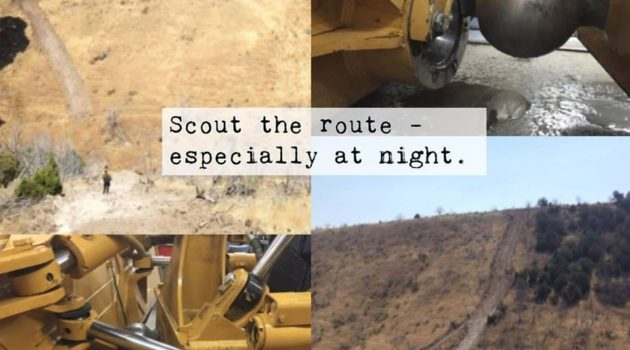 Scout the Route Graphic