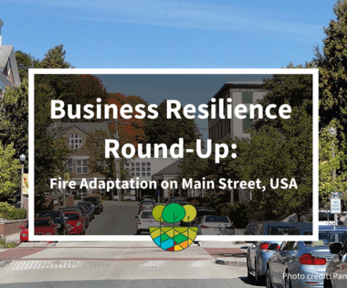 Business Resilience Round-Up: Fire Adaptation on Main Street, USA