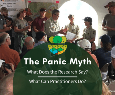 The Panic Myth: What Does the Research Say and What Can Practitioners Do?