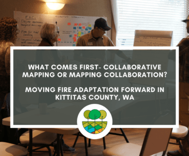 What Comes First — Collaborative Mapping or Mapping Collaboration?