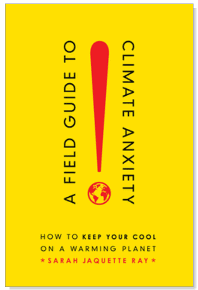 Book cover for A Field Guide to Climate Anxiety