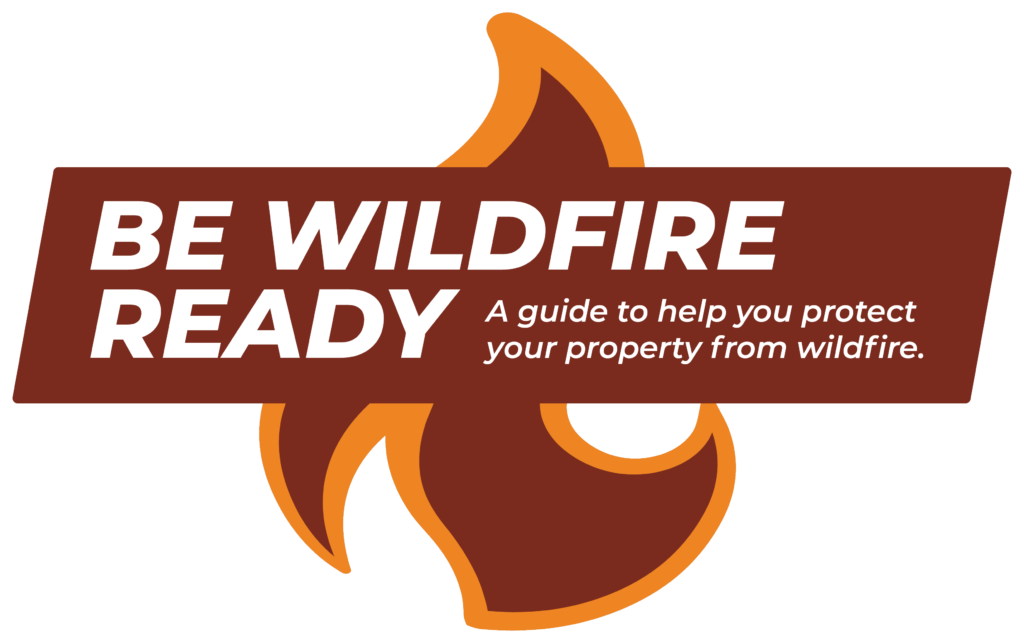 Logo for Wildfire Ready guide