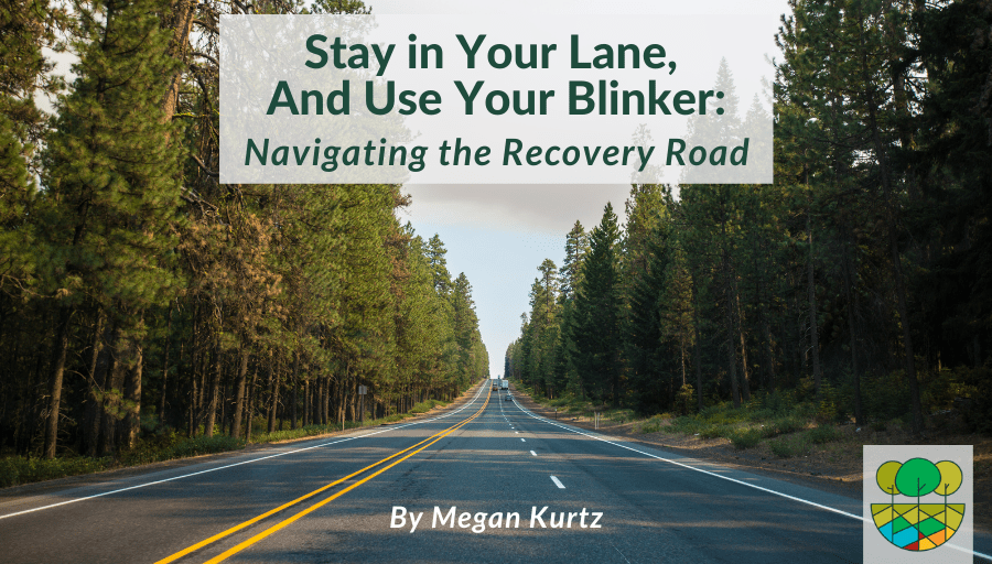 Stay in Your Lane, and Use Your Blinker: Navigating the Recovery Road