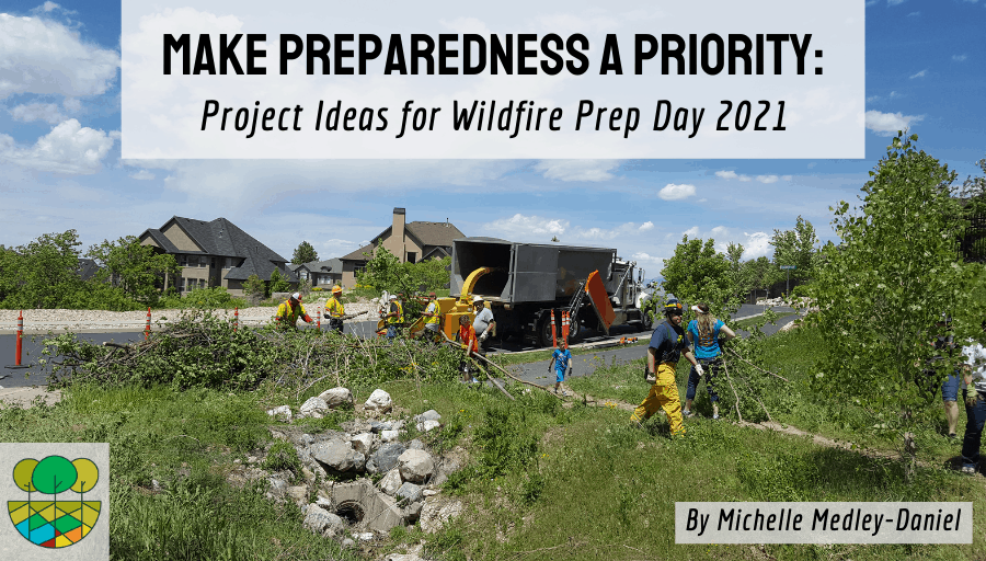 Make Preparedness a Priority: Project Ideas for Wildfire Prep Day 2021