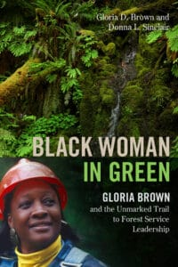 A book cover entitled Black Woman in Green