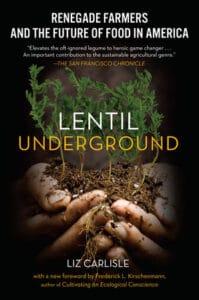 Book cover entitled Lentil Underground