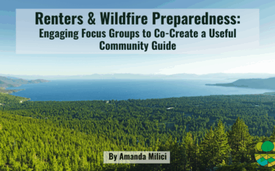 Renters and Wildfire Preparedness: Engaging Focus Groups to Co-Create a Useful Community Guide