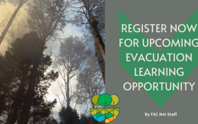 Register Now for Upcoming Evacuation Learning Opportunity